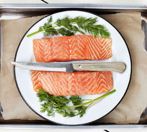 Norwegian-Style Oven Toasted Salmon Recipe