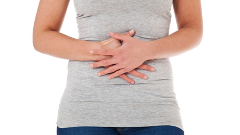 ovarian cyst and back pain
